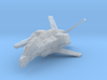 "Taiidan ""Triikor"" Interceptor 3d printed"