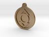 Indigo Lantern Key Chain 3d printed