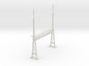 PRR CATENARY HO SCALE ANCHOR BRIDGE 2 PHASE PECO 3d printed