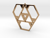 Polygonal Pendant #1 3d printed