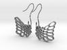 Butterfly Earrings 3d printed