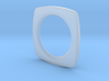 PILLOW SHAPED BANGLE 2.5 ID 3d printed