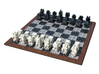Cubic Chess - King & Queen 3d printed