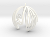 Snowdrop Ornament 3d printed