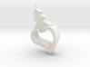 104102234黃偉豪 心型聖誕吊飾 3d printed