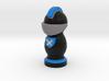 Catan Robber Knight Blk Blu Scot 3d printed