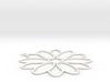 Flower Shape Charm 3d printed