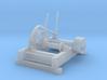 HO Log Haul-up winch 3d printed