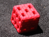 Brick Die 3d printed Red Strong and Flexible