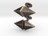 Zendikar Hedron Cufflinks 3d printed