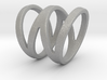 Stacked W Ring Size US 8 3d printed