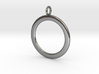 Ring-shaped pendant — smooth 3d printed