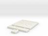 SciFi Tile 03 - Reinforced Plate 3d printed