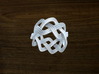 Turk's Head Knot Ring 3 Part X 8 Bight - Size 7 3d printed
