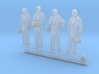 48-H0080: Grumman Tracker crew in 1:48 3d printed
