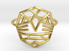 Fearless Warrior Ring (Medium) 3d printed
