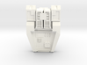 Transformers Warbotron Computron G1 Chest Plate  3d printed
