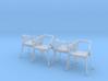 1:24 YY Chair Set 3d printed