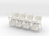 1:24 C 275 Chairs Set of 8 3d printed