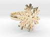 Snowflake Ring 1 d=17mm h35d17 3d printed