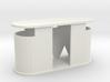 Concrete public toilet (1:87) 3d printed