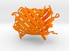 mOrange Fluorescent Protein 3d printed