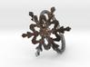 Snowflake Ring 2 d=19mm h21d19 3d printed