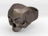 Polygonal Skull Ring Bynachoriesco US10Size 3d printed