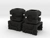 Combiner Port Extenders 3d printed