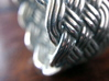 Turk's Head Knot Ring 6 Part X 10 Bight - Size 10 3d printed