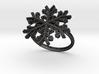 Snowflake Ring 1 d=17.5mm h21d175 3d printed