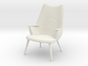 1:24 Wegner Lounge Chair Model AP27 3d printed