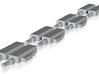 """O"" SCALE!!! 4 LH & 4 RH PRR Style Pneumatic Switc 3d printed 4 LH & 4 RH PRR Switch Macnines"