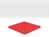 3D Heart Coaster 3d printed