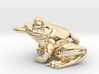 Frog Pendant Alone 3d printed