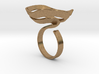 Swirl ring - size 7 3d printed