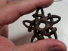 Celtic Star Pendant 3d printed