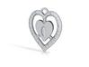 Heart 33mm 3d printed