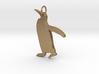 Penguin Pendant 3d printed