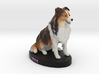 Custom Dog Figurine - Ziva 3d printed