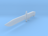 ARROW - Arsenal Cold Steel OSS (1:6) 3d printed