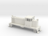 GE 60-Ton OCC Switcher in HO-Scale 3d printed
