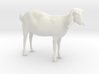 3D Scanned Nubian Goat  3d printed