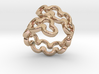 Jagged Ring 22 - Italian Size 22 3d printed