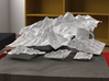 "12'' Grand Tetons, Wyoming, USA 3d printed Rendering of all available sizes: 3"", 4"", 6"", 8"", 12"", 20"""