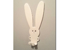 Wall clothes hangers - Bunny 3d printed