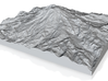 Model of Kautz Glacier 3d printed