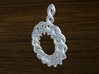 Woven Pendant 3d printed