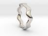 MEDIUM WAVE Ring 3d printed