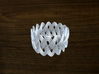 Turk's Head Knot Ring 3 Part X 15 Bight - Size 10 3d printed